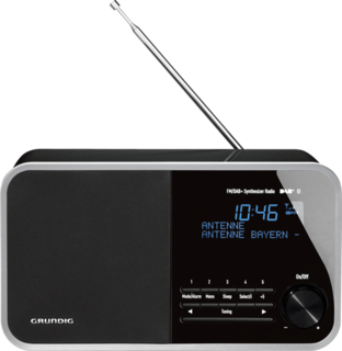 DTR 4000 DAB+ BT crna - Digitalni radio aparat